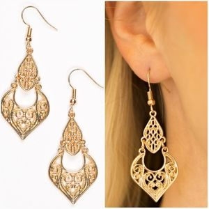 GENIE GROTTO GOLD EARRINGS